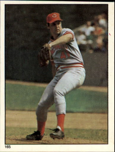 1981 Topps Stickers #165 Tom Seaver