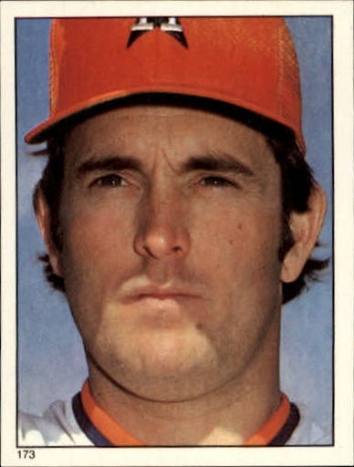 1981 Topps Stickers #173 Nolan Ryan