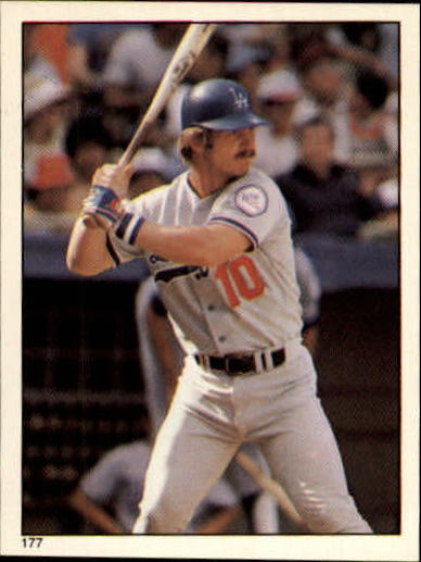 1981 Topps Stickers #177 Ron Cey