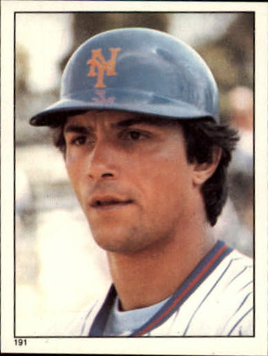 1981 Topps Stickers #191 Lee Mazzilli