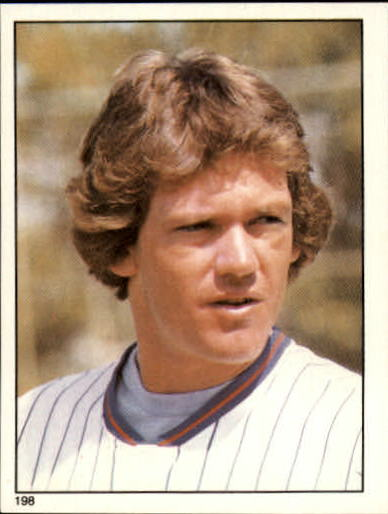 1981 Topps Stickers #198 Neil Allen