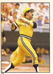 1981 Topps Stickers #215 Willie Stargell