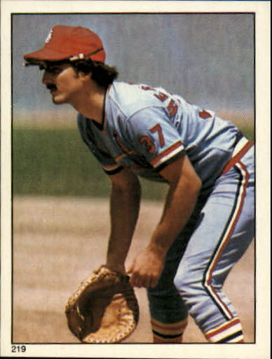 1981 Topps Stickers #219 Keith Hernandez