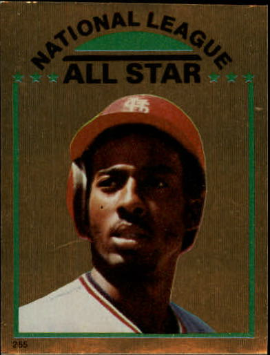1981 Topps Stickers #255 Garry Templeton FOIL