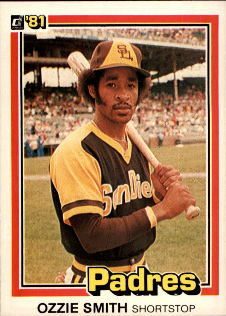 1981 Donruss #1 Ozzie Smith