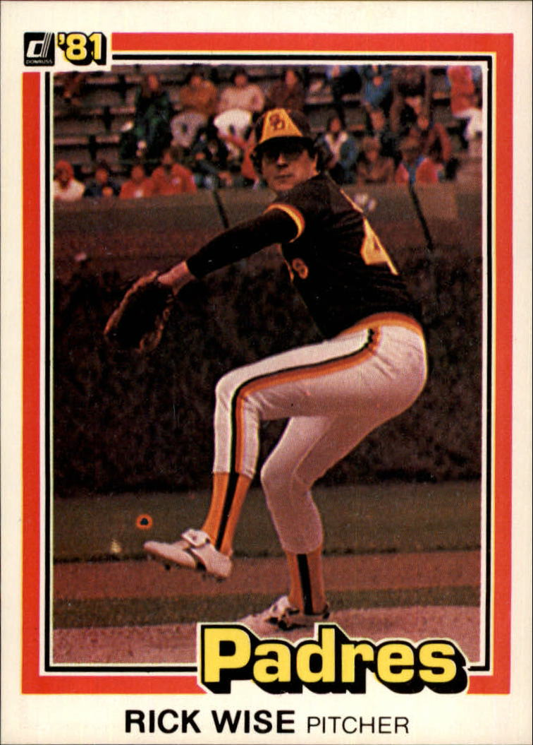 1981 Donruss #3 Rick Wise