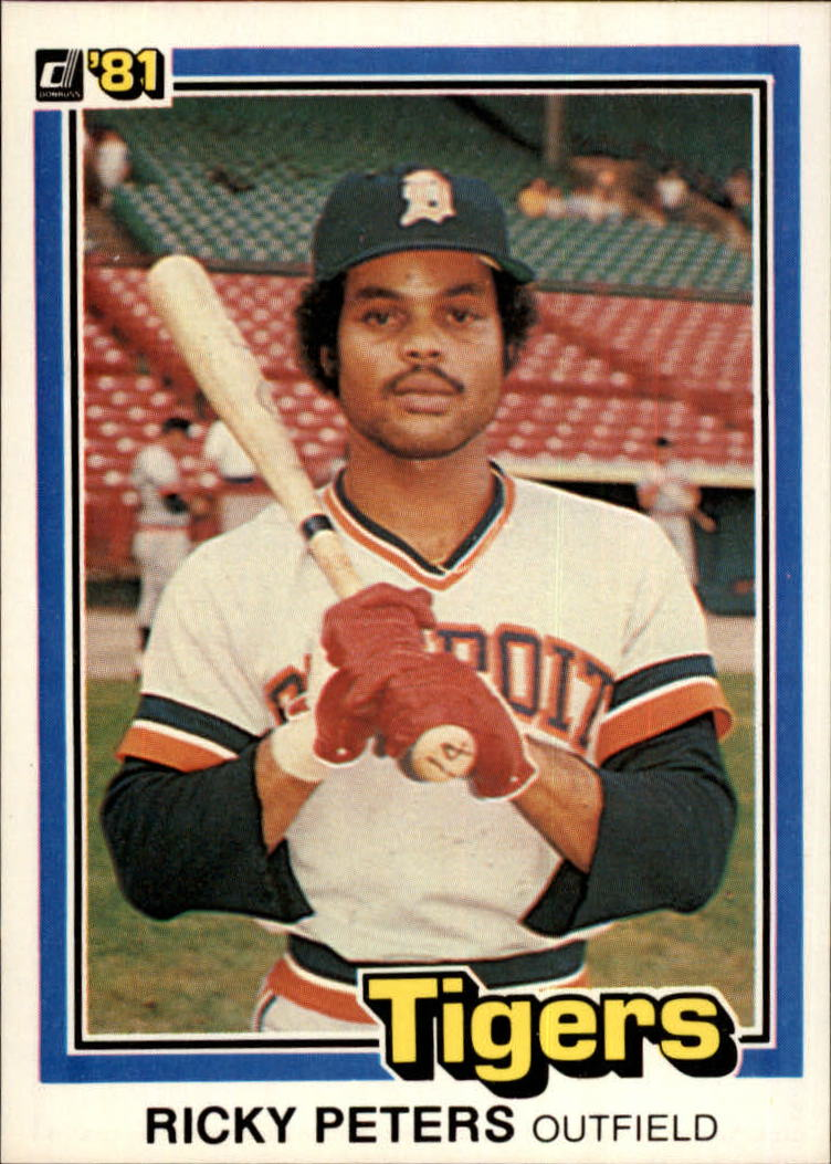 1981 Donruss #10 Ricky Peters RC