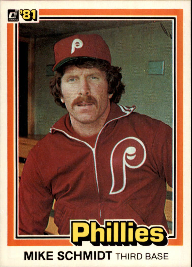 1981 Donruss #11 Mike Schmidt