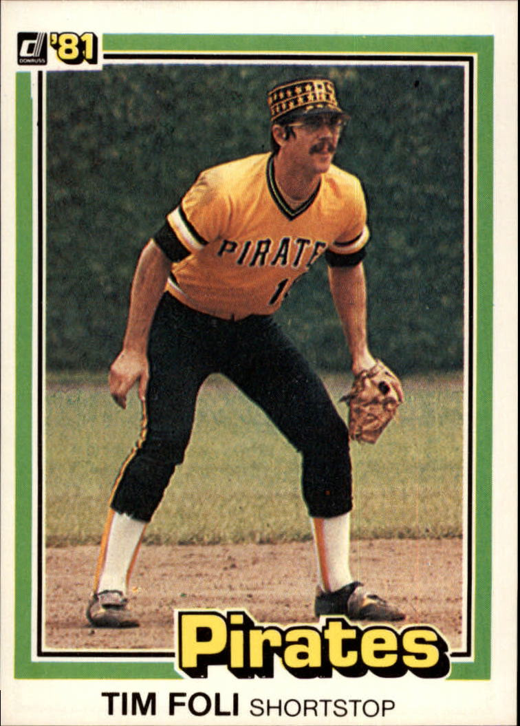 1981 Donruss #13 Tim Foli