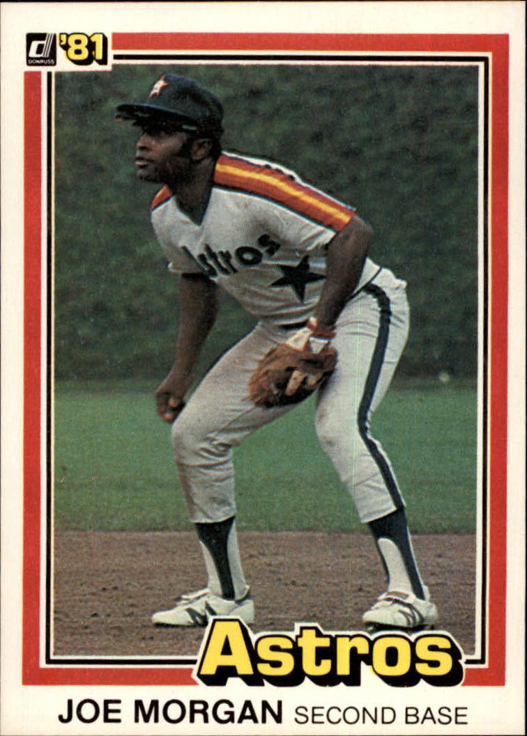 1981 Donruss #18 Joe Morgan