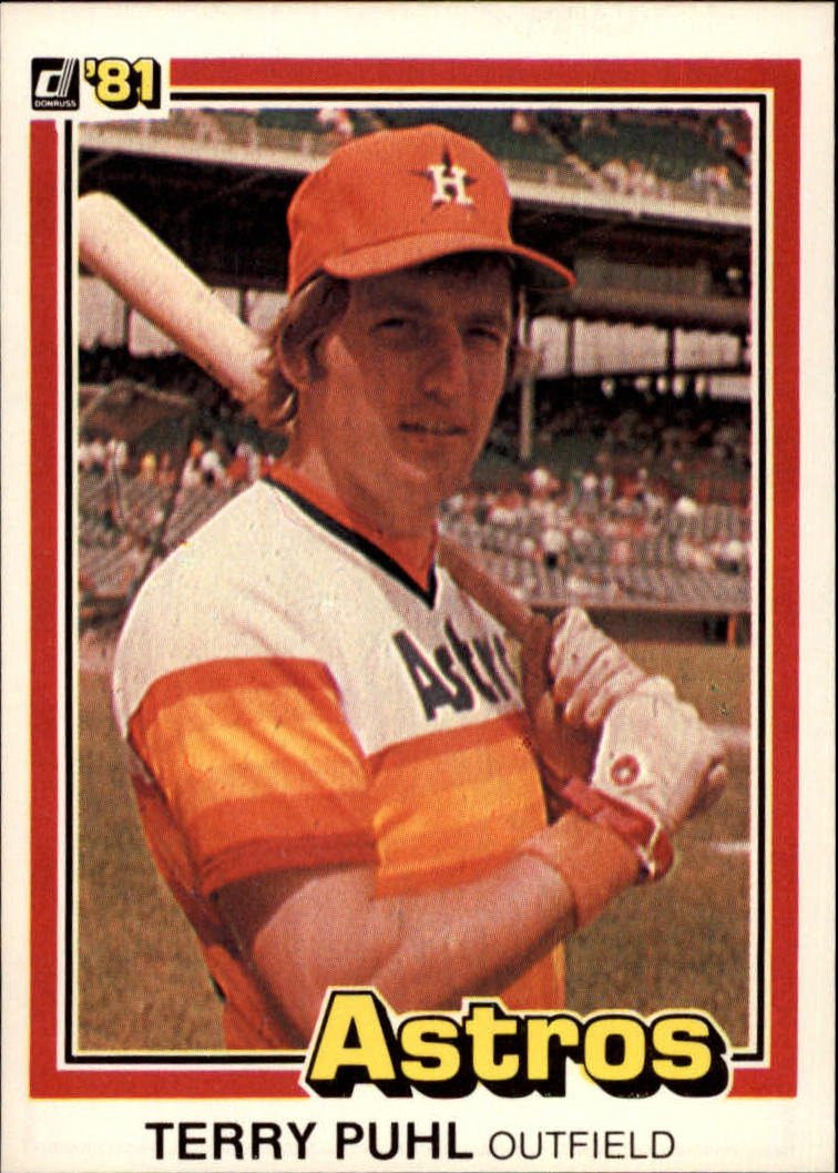 1981 Donruss #24 Terry Puhl