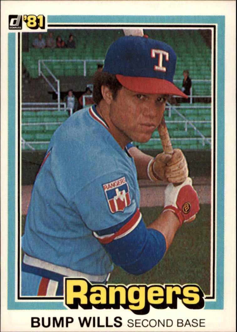 1981 Donruss #25 Bump Wills