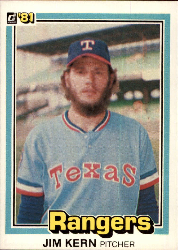 1981 Donruss #27 Jim Kern