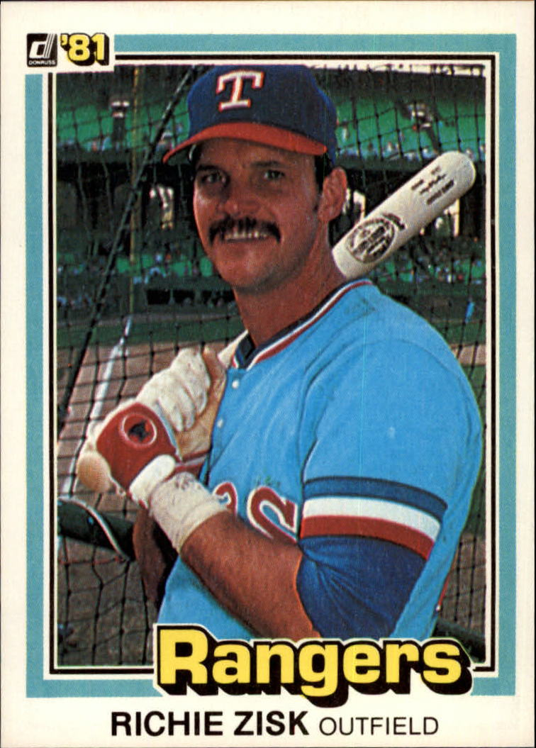 1981 Donruss #28 Richie Zisk
