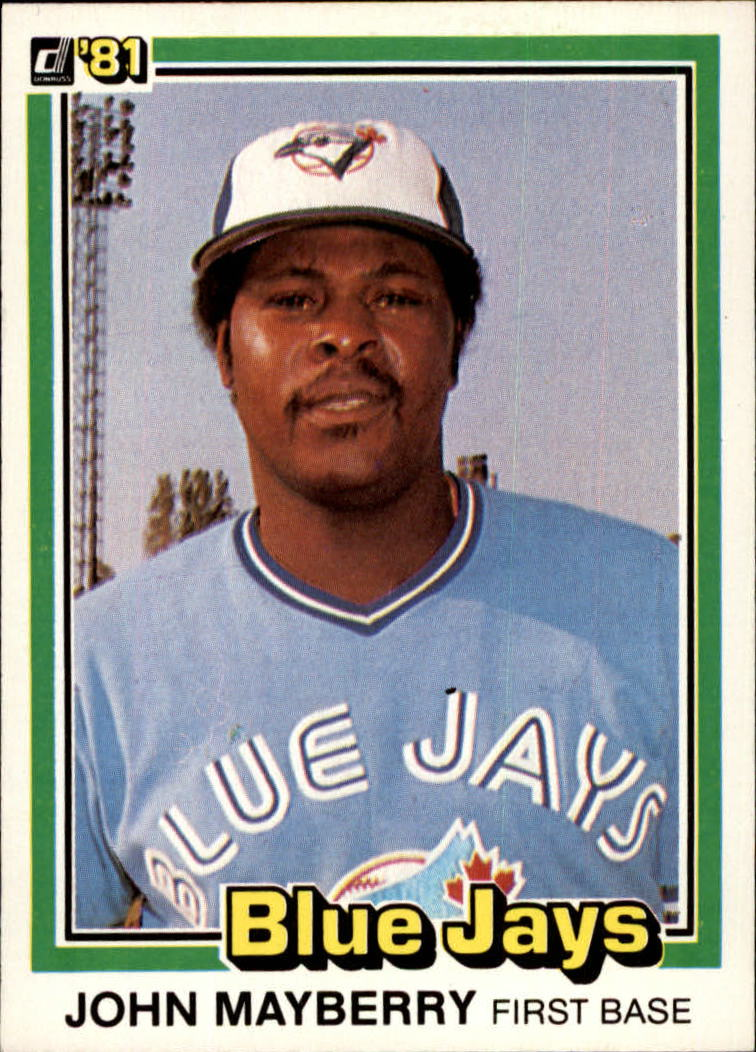 1981 Donruss #29 John Mayberry