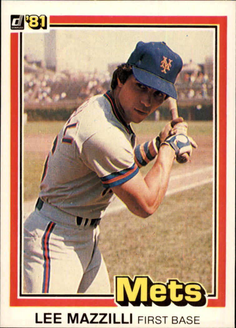 1981 Donruss #34 Lee Mazzilli