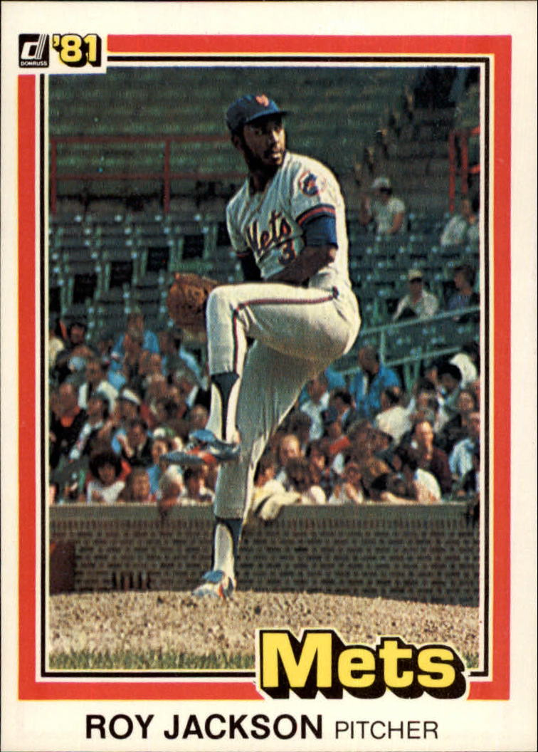 1981 Donruss #36 Roy Lee Jackson RC