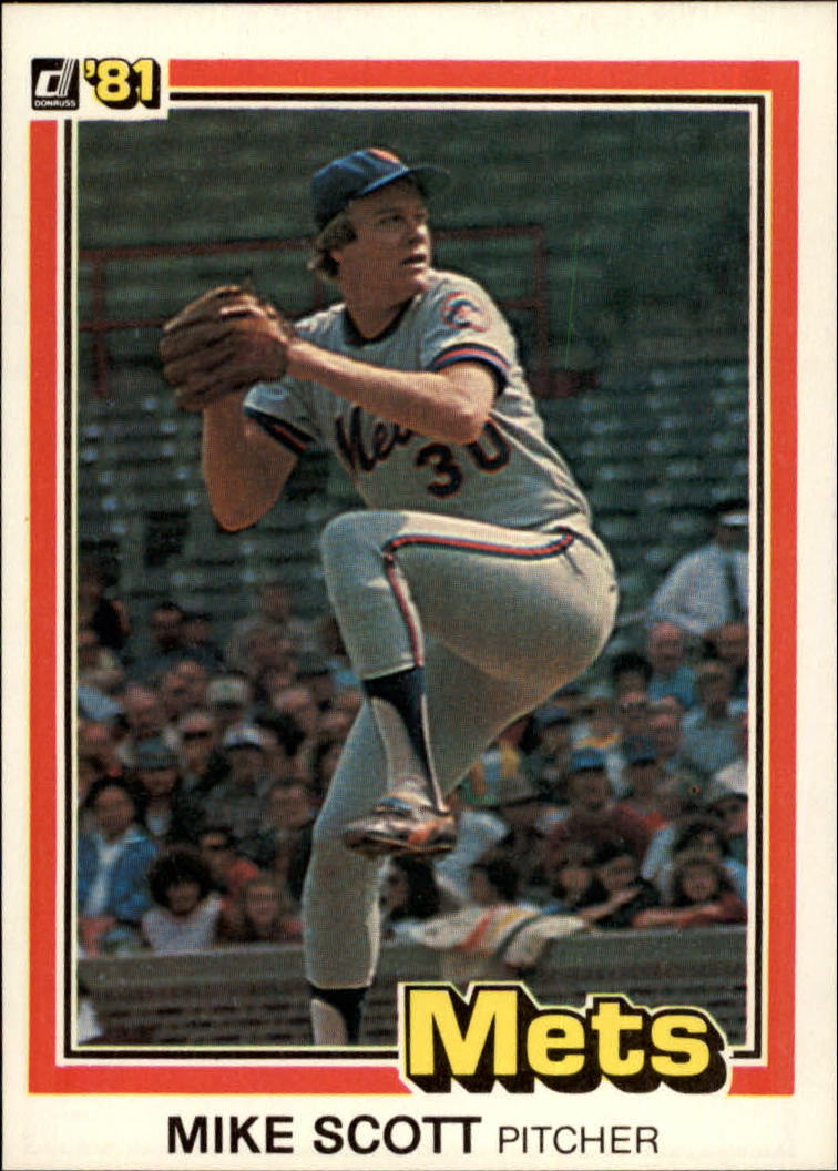1981 Donruss #37 Mike Scott
