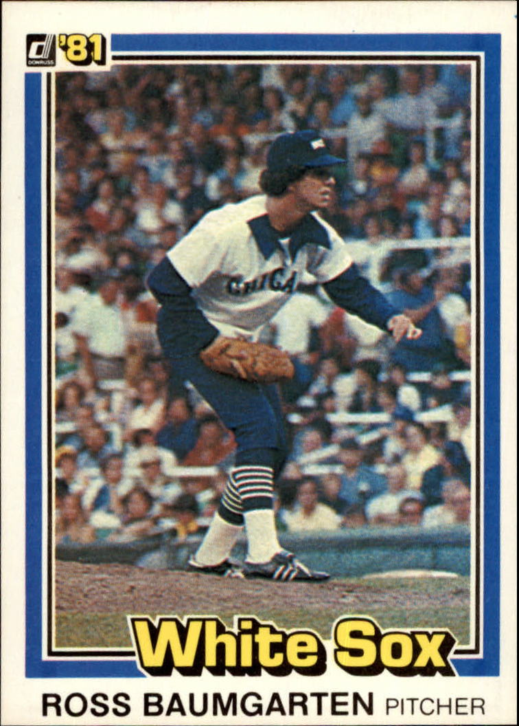 1981 Donruss #41 Ross Baumgarten