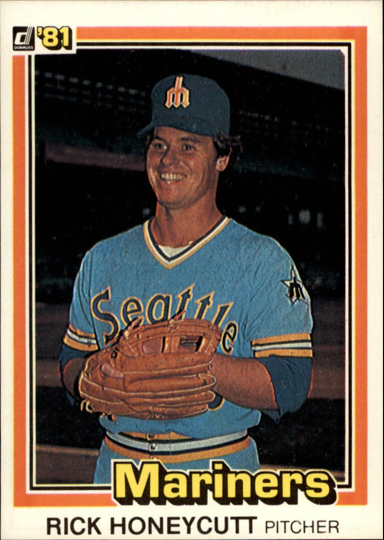 1981 Donruss #46 Rick Honeycutt