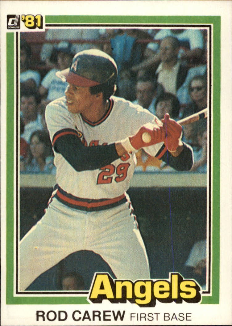 1981 Donruss #49 Rod Carew