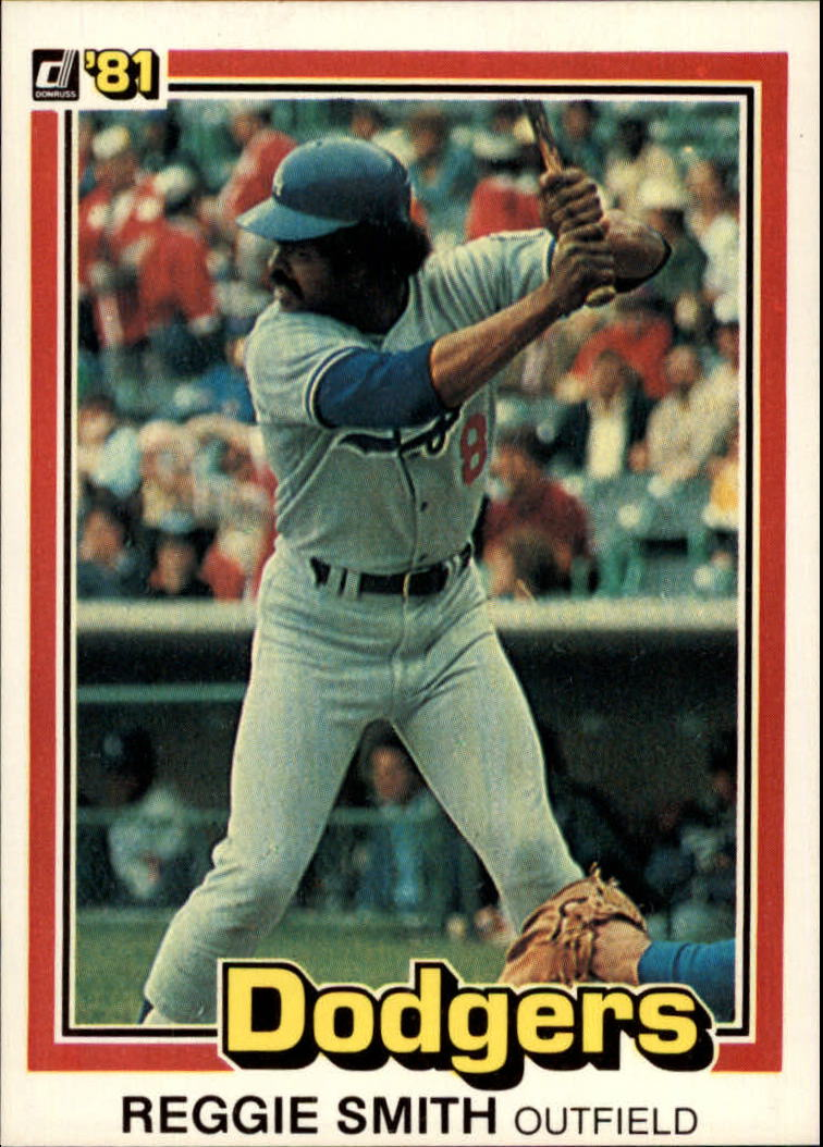 1981 Donruss #59 Reggie Smith