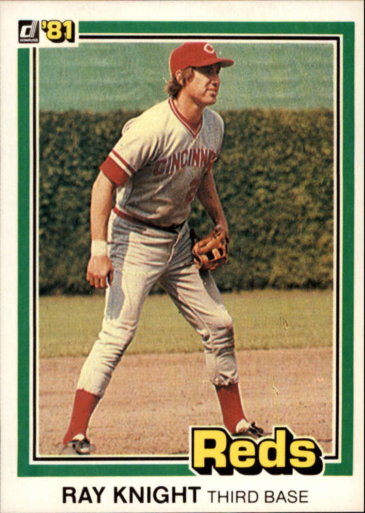 1981 Donruss #61 Ray Knight