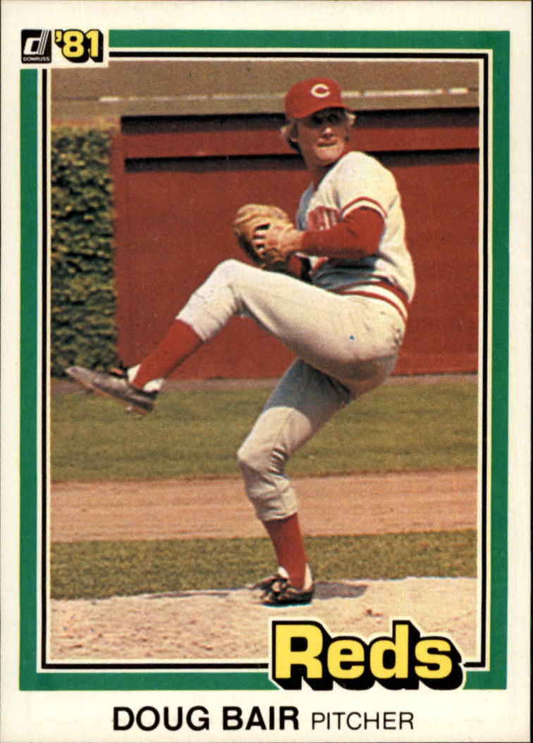 1981 Donruss #64 Doug Bair