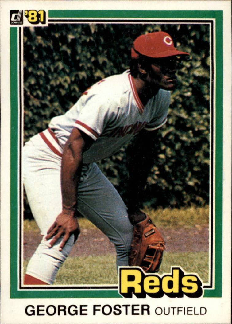 1981 Donruss #65 George Foster