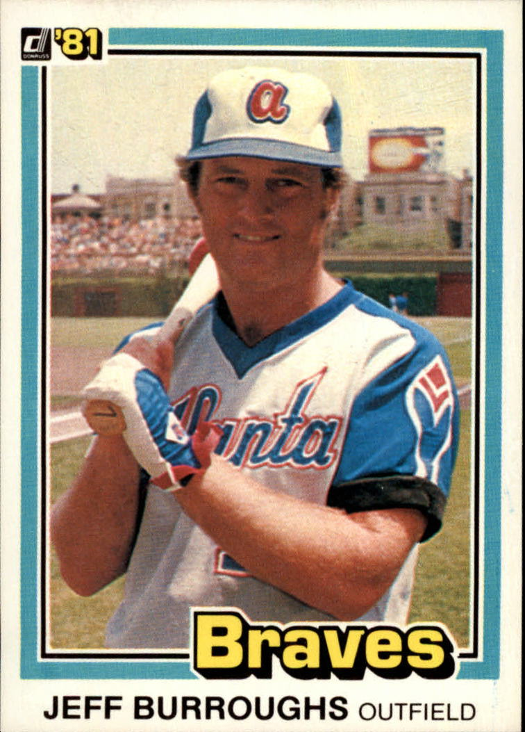 1981 Donruss #66 Jeff Burroughs