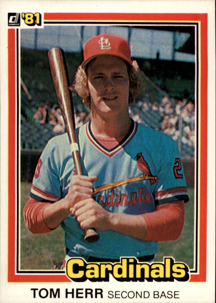 1981 Donruss #68 Tom Herr