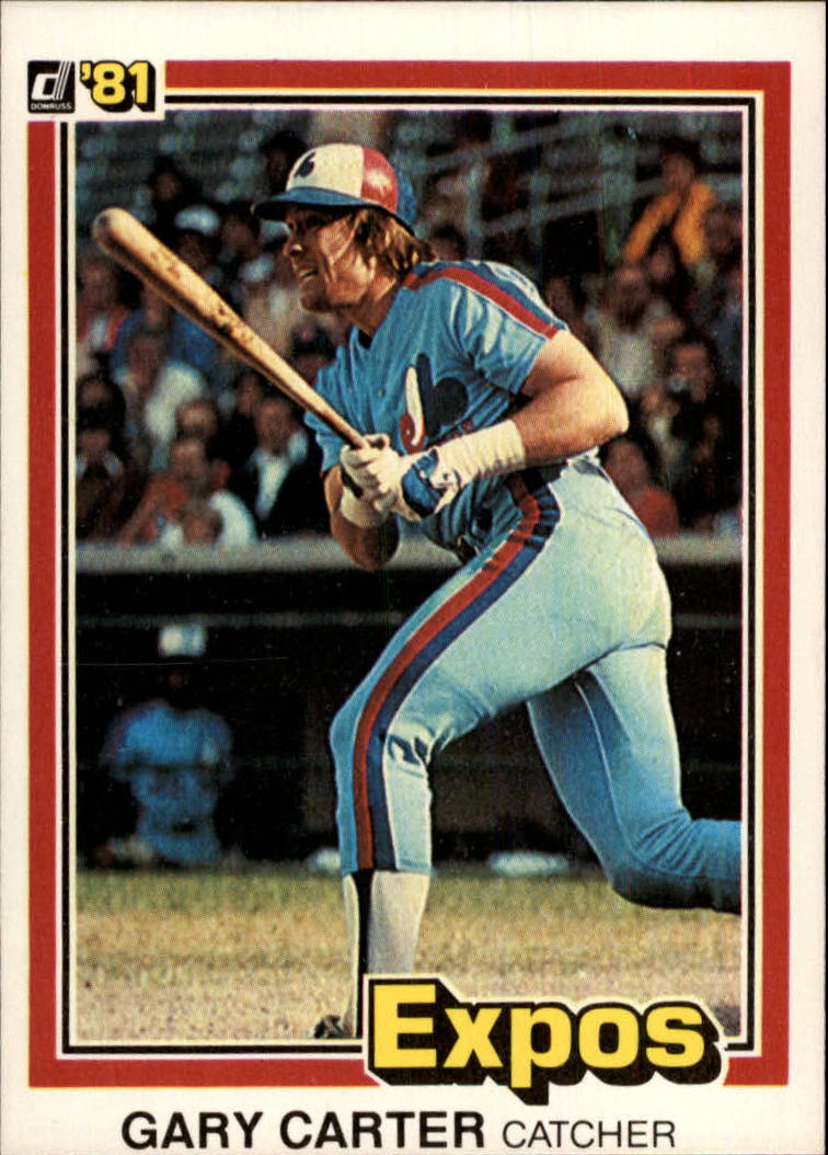 1981 Donruss #90 Gary Carter