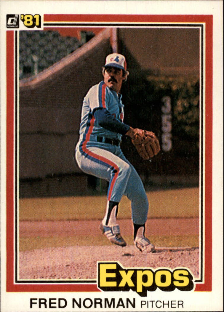 1981 Donruss #92 Fred Norman