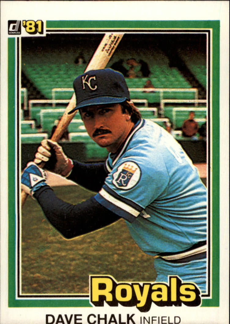 1981 Donruss #101 Dave Chalk