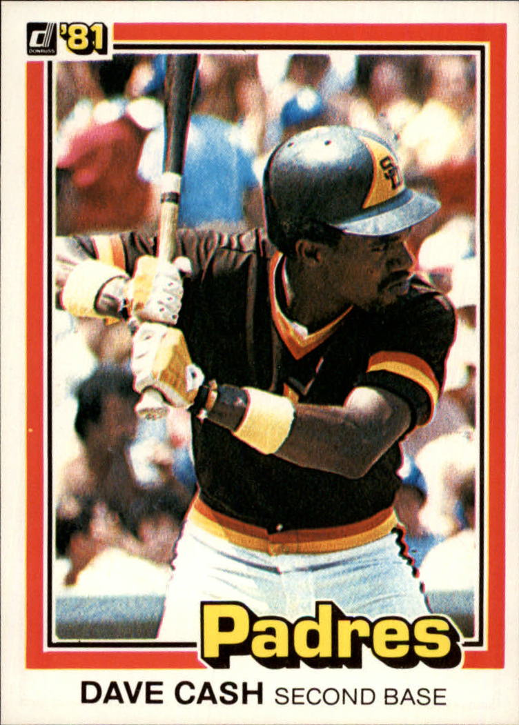 1981 Donruss #121 Dave Cash
