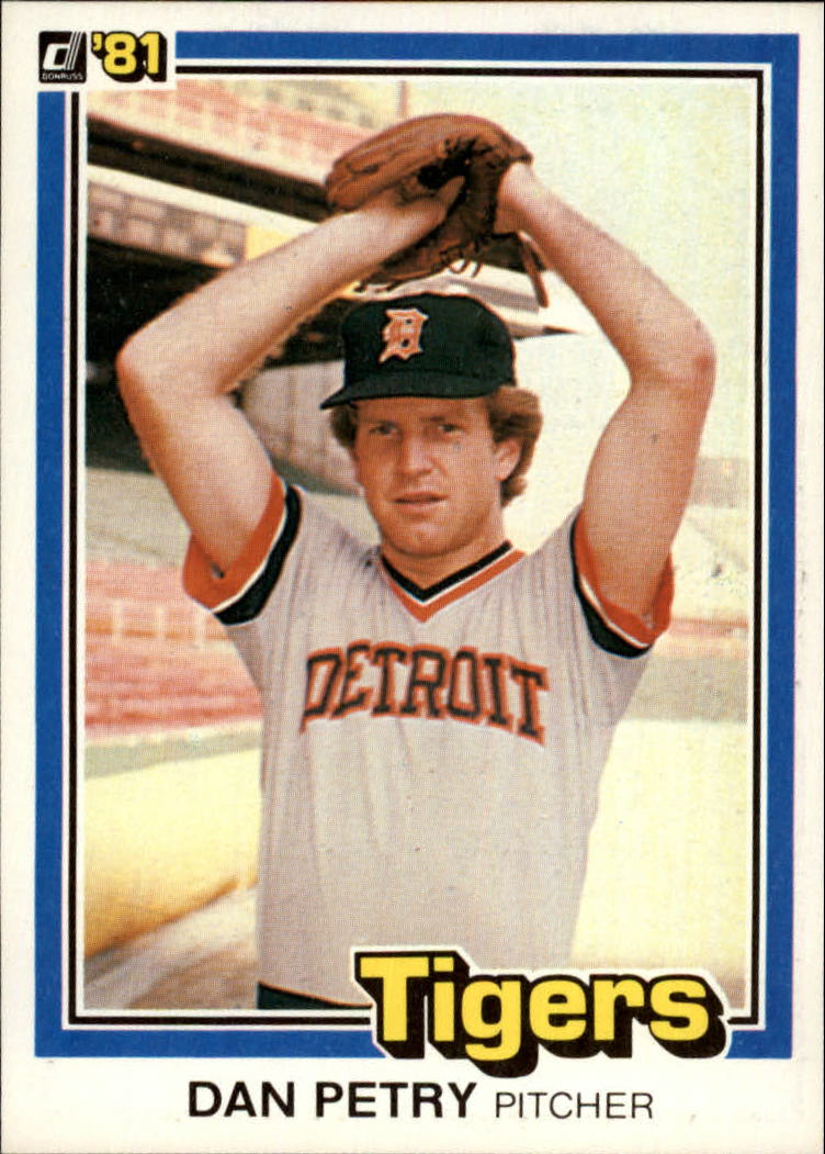 1981 Donruss #128 Dan Petry