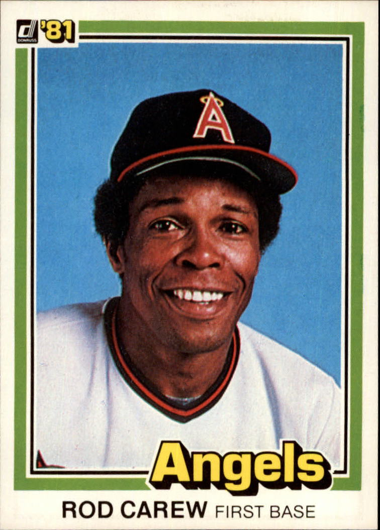 1981 Donruss #169 Rod Carew