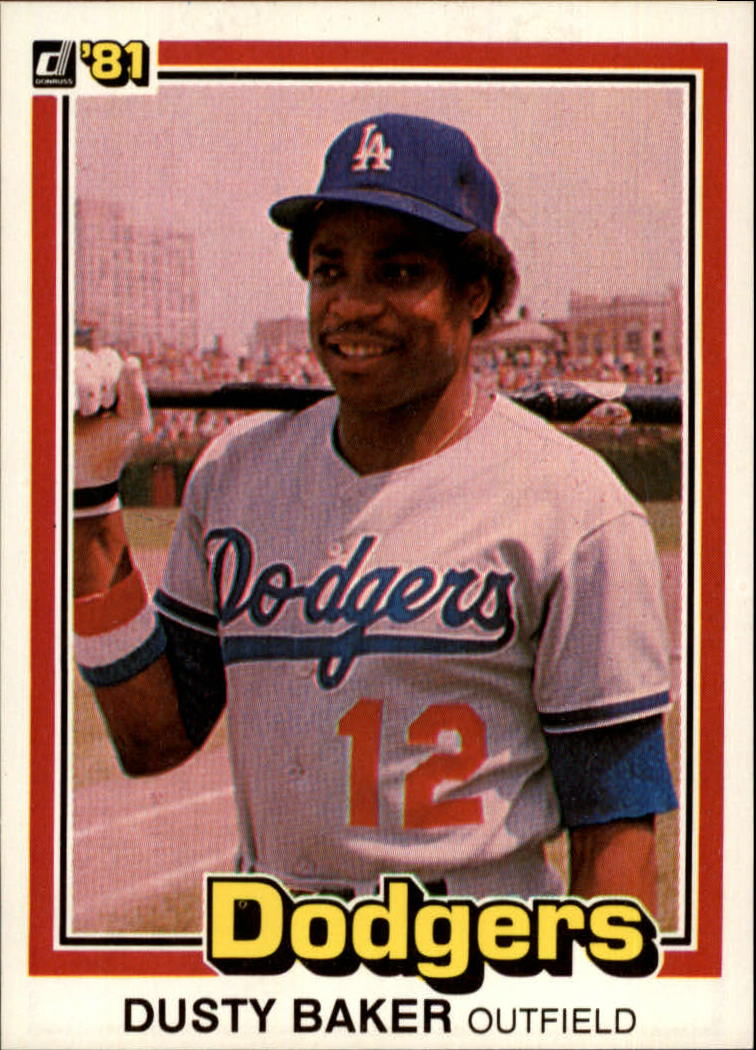 1981 Donruss #179 Dusty Baker