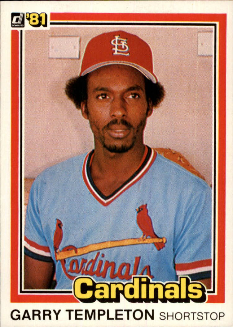 1981 Donruss #187 Garry Templeton