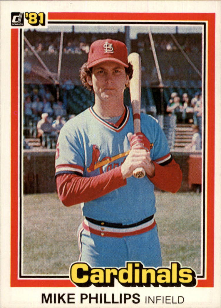 1981 Donruss #188 Mike Phillips
