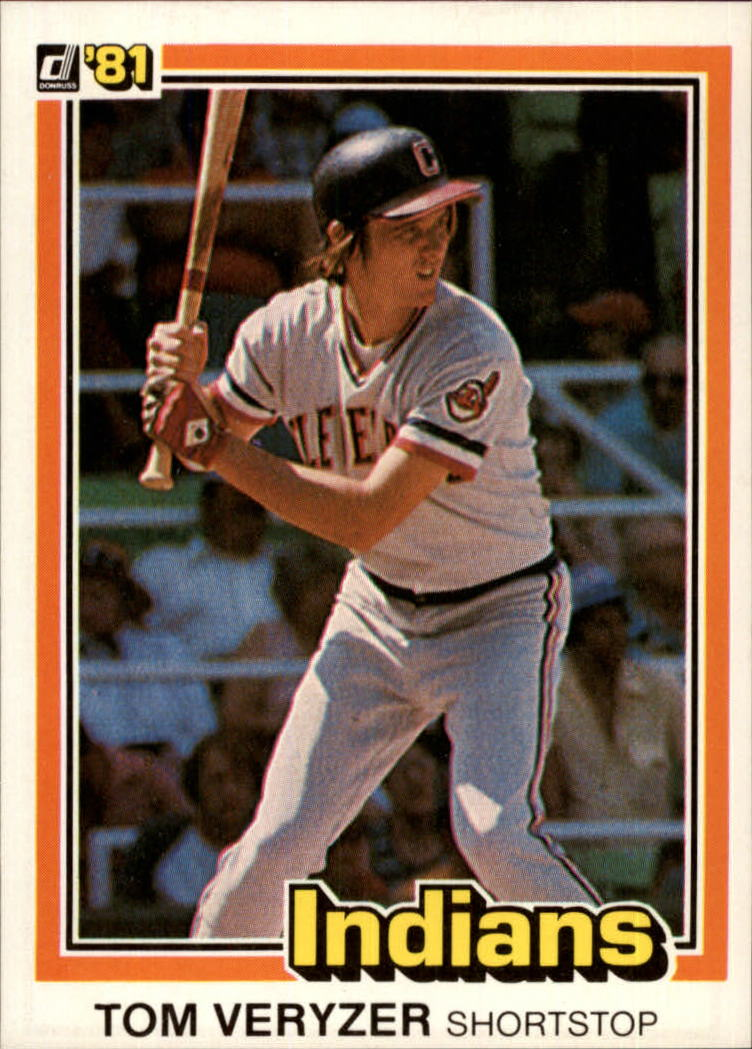 1981 Donruss #199 Tom Veryzer