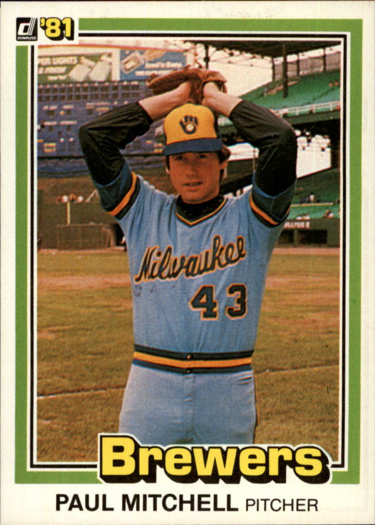 1981 Donruss #205 Paul Mitchell