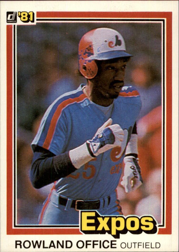 1981 Donruss #213 Rowland Office