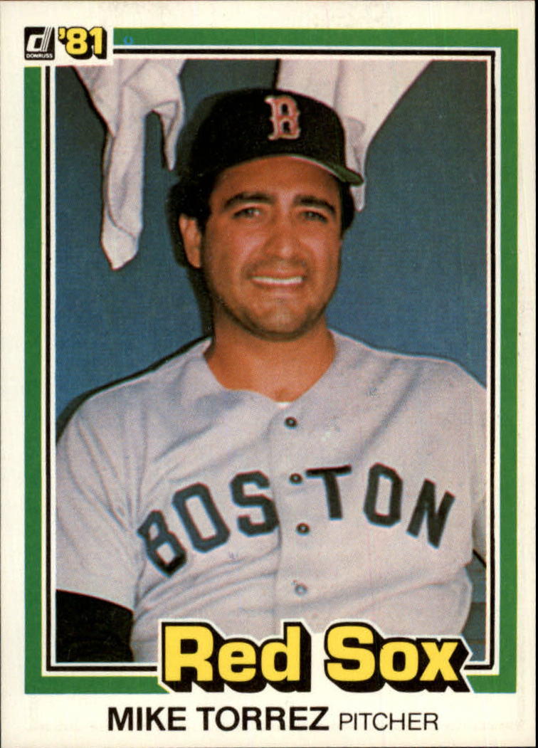 1981 Donruss #216 Mike Torrez