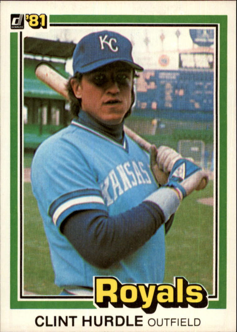 1981 Donruss #224 Clint Hurdle