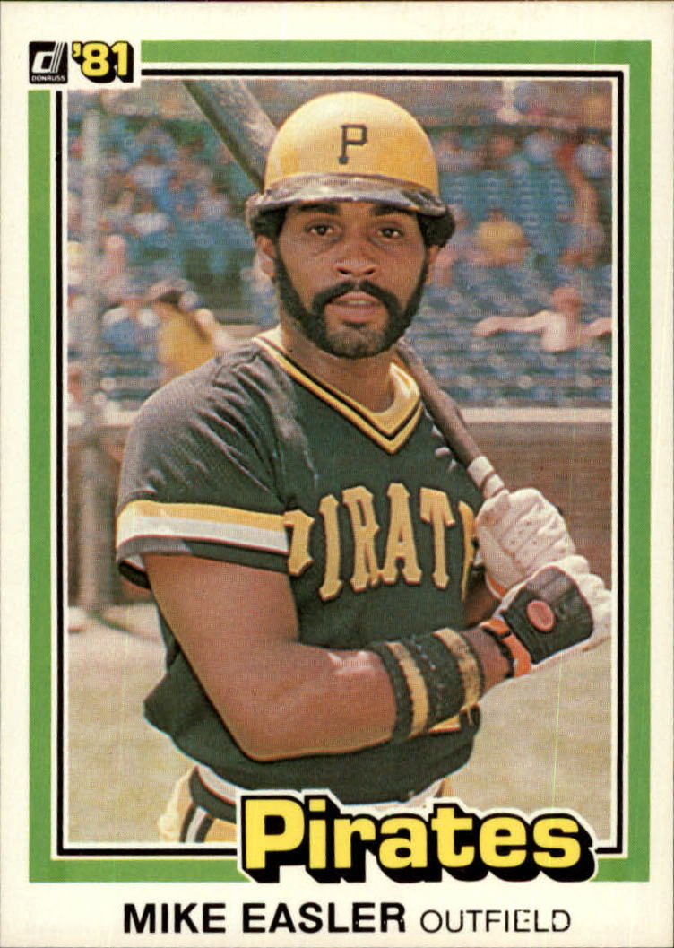 1981 Donruss #256 Mike Easler