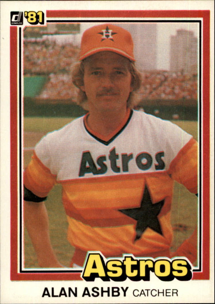 1981 Donruss #259 Alan Ashby