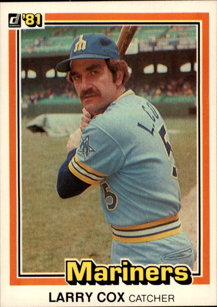1981 Donruss #285 Larry Cox