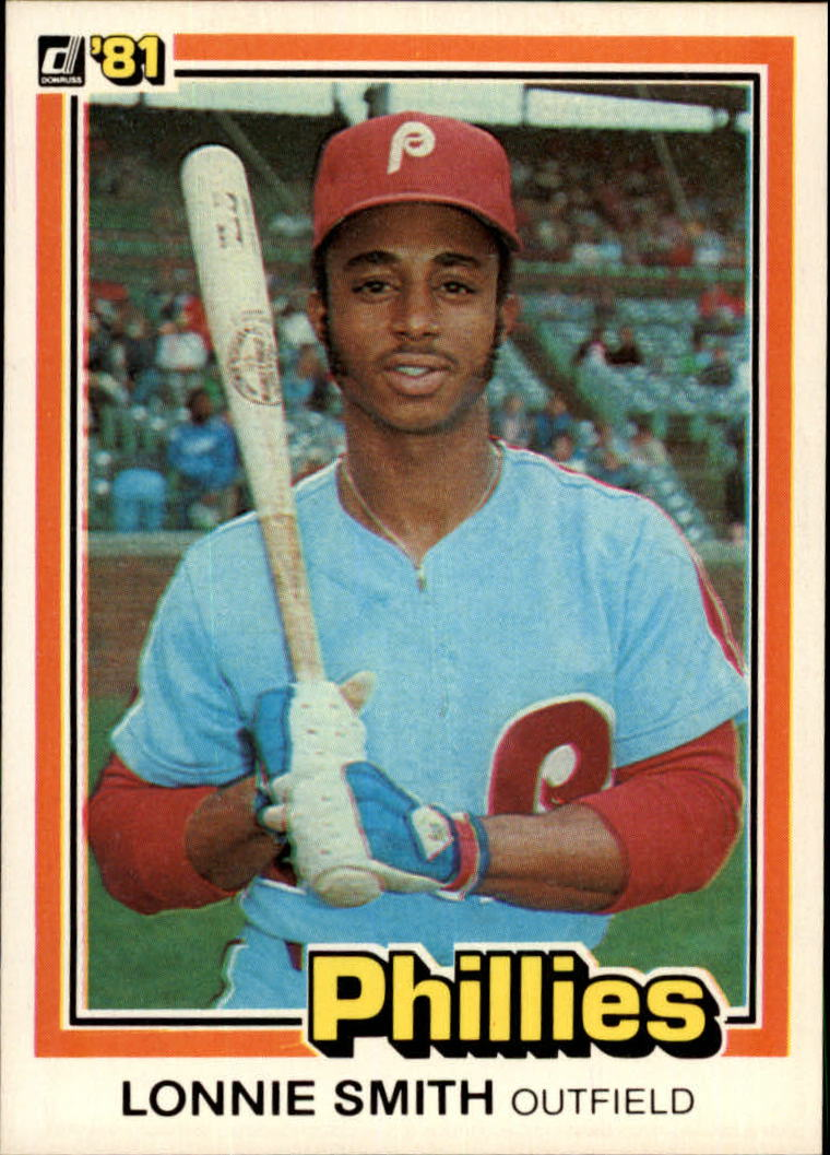 1981 Donruss #295 Lonnie Smith