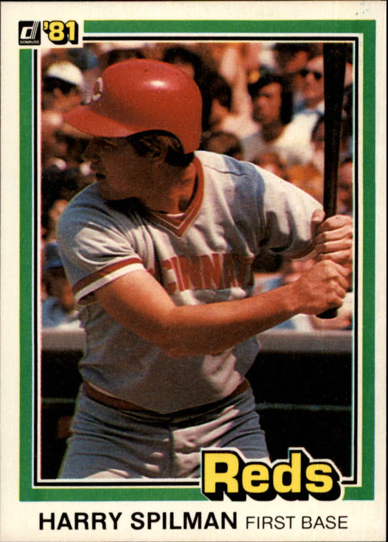1981 Donruss #304 Harry Spilman